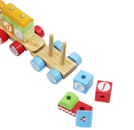Fa vonat készlet - 18 részes