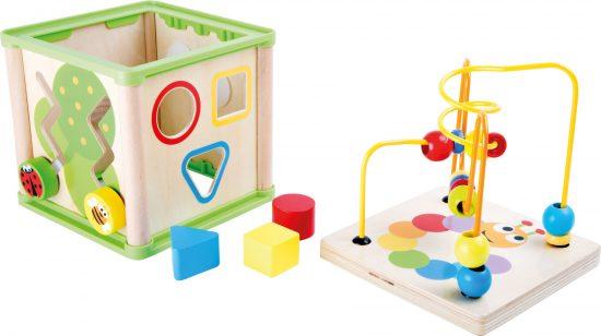 Készségfejlesztő matatós játék - 5 funkció egyben 4