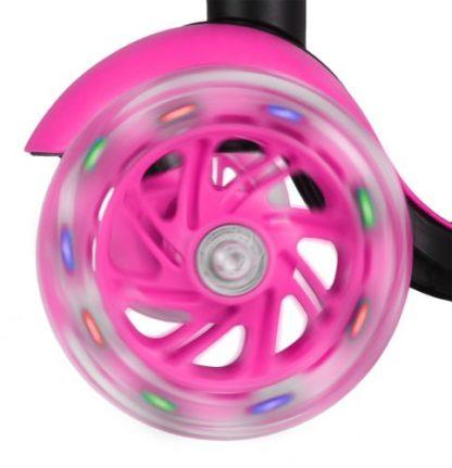 Katicás Roller 3in1 - Rózsaszín, ledes világítással 4