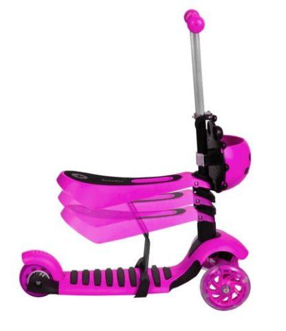 Katicás Roller 3in1 - Rózsaszín, ledes világítással 5