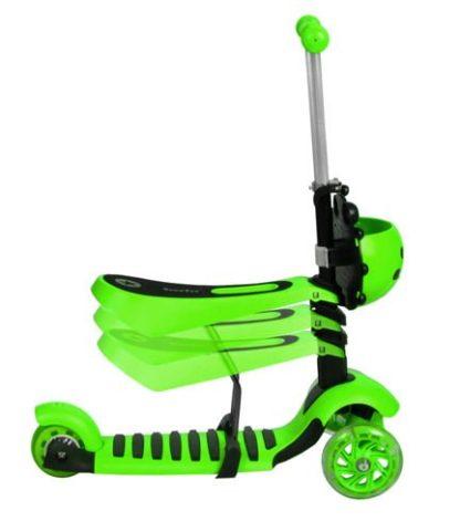 Katicás Roller 3in1 - Zöld, ledes világítással 3