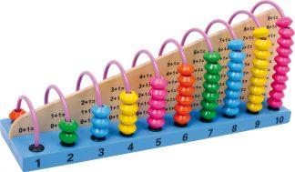 Abakusz golyós számoló játék