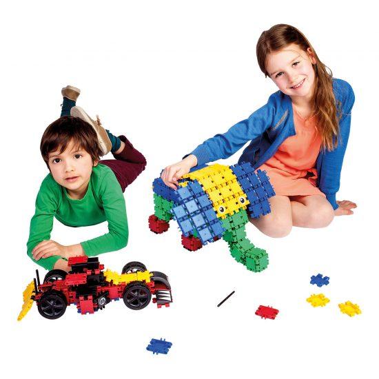 Clics Rollerbox 400db-os építőjáték