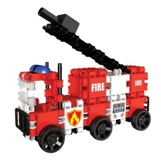 Clics építőjáték - Tűzoltó osztag