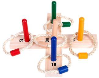 karikadobáló játék