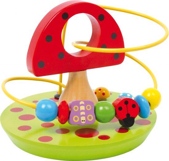 Golyóvezető játék babáknak 2