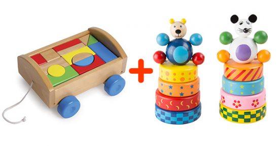 Fejlesztő játékcsomag 1 éves kortól 1