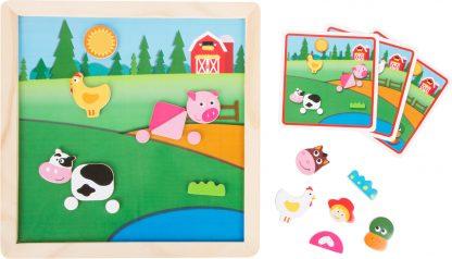 mágnese-kirakó-puzzle-farmos
