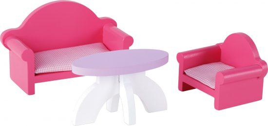 Deluxe babaház - kanapé