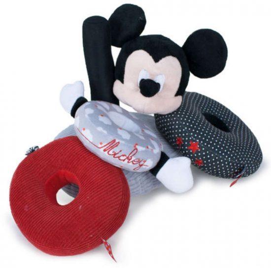 Mickey egér plüss gyűrűs torony babáknak 2