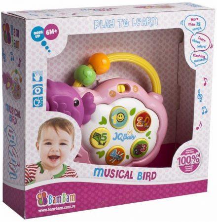 Zenélő fejlesztő játék babáknak - Madárka 1