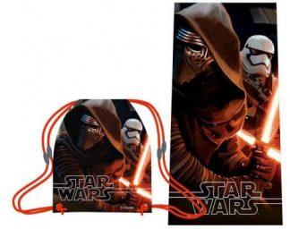 Star wars törölköző tornazsákkal