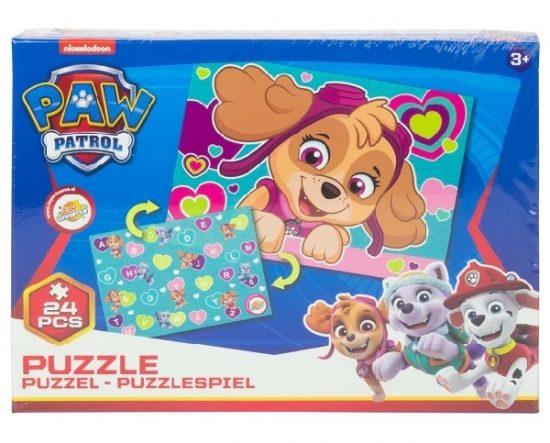 Mancs Őrjárat puzzle 24 darabos