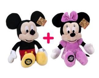 Mickey és Minnie plüss csomag