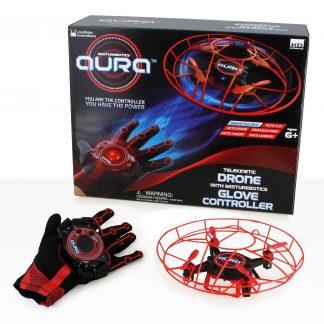 Aura kinetikus drón - kesztyűvel vezérelhető